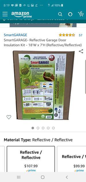 Garage door insulation kit for Sale in Denver, CO