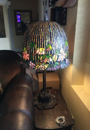 Amazing & beautiful Stained Glass Table Lamp, paid over $500 selling only $125 for Sale in Garden Grove, CA