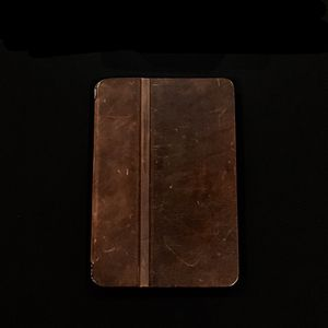 Restoration Hardware Artisan Brown Leather iPad Mini Cover Case for Sale in Parkville, MO