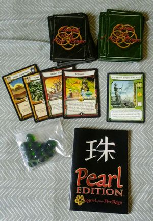 Legend of the Five Rings TCG Pearl Edition for Sale in Prineville, OR