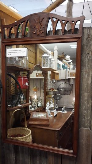 Antique Mahogany Mirror for Sale in Orlando, FL