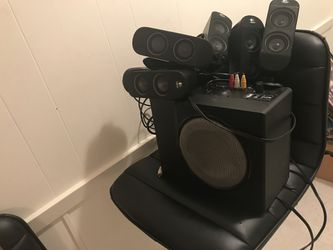 Logitech surround sound for sale. Used only couple times. for Sale in Pineville,  LA
