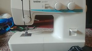 Brother sewing machine, free fabric and yarn for Sale in Bellevue, WA