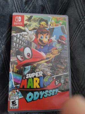 "Nintendo Switch ""SUPER MARIO ODYSSEY "" game cartridge for Sale in Gardena, CA"