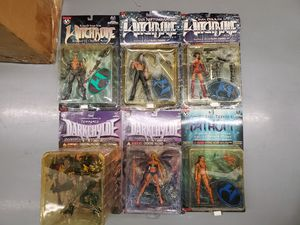 Comic Action Figures Lot: Witchblade, Darkchylde, Fathom for Sale in Clifton, VA