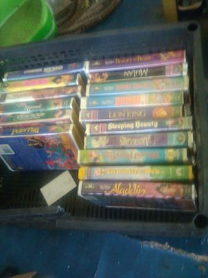 Disney movies lot of 16 for Sale in Bartow, FL