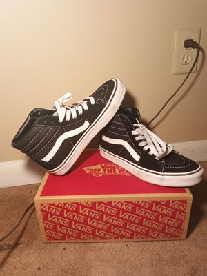 Black and White high top vans for Sale in Huntsville, AL