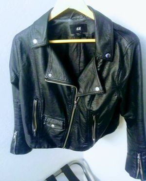 H&M motorcycle jacket size M/14 for Sale in Wheat Ridge, CO