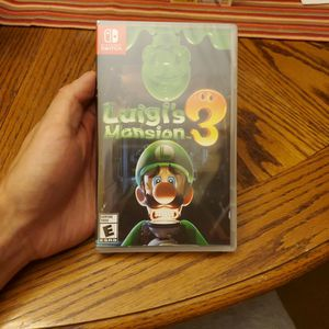 Nintendo Switch Luigi's Mansion 3 Brand New for Sale in Grand Prairie, TX