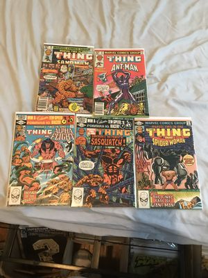 Marvel two in one 83-87 comics for Sale in Garden City, NY