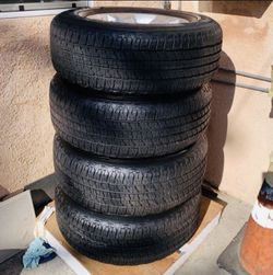 "18"" Ram 1500 Bighorn Stock Wheel&tire Set for Sale in Long Beach,  CA"