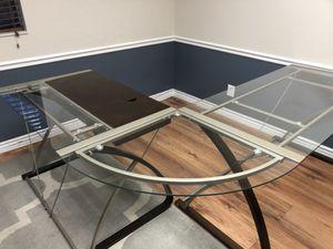 Glass Corner Desk for Sale in Springville, UT