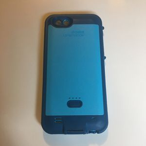iPhone 6, 7, & 8 Blue LifeProof Chargeable Case for Sale in Millvale, PA