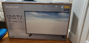 Samsung UHD 4K 50 INCHES TV 6 SERIES for Sale in Johnston, RI
