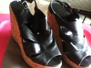 Black shoes size 8 for Sale in Hyattsville, MD