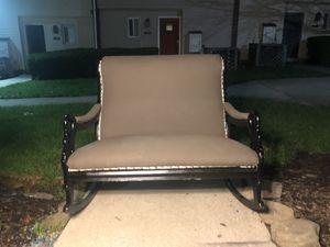 Rocking love seat bench for Sale in Alexandria, VA