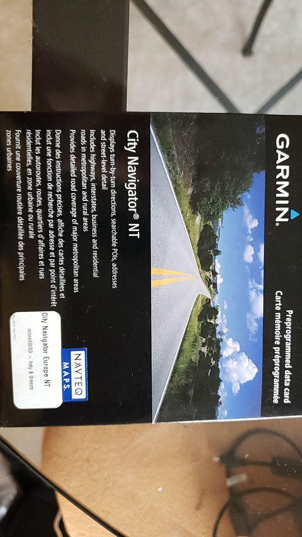 Garmin Colorado series, all terrain navigator