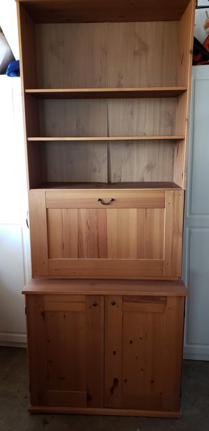 Wooden Hutch - like new! for Sale in Oceanside, CA