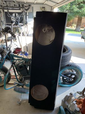 """12"""" subwoofer ported box. for Sale in Selma, CA"""
