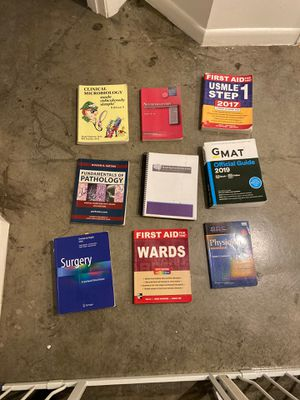 Free medical school textbooks for Sale in Miami, FL