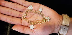 Gold bracelet 14k for Sale in Irvine, CA