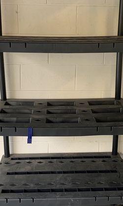 5 Tier Plastic Shelving Unit for Sale in Oviedo,  FL