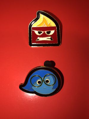 Anger and Sadness Disney Pins for Sale in San Diego, CA