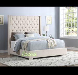 Queen / King Bedframe With Storage (Cash $440/495) for Sale in Houston, TX