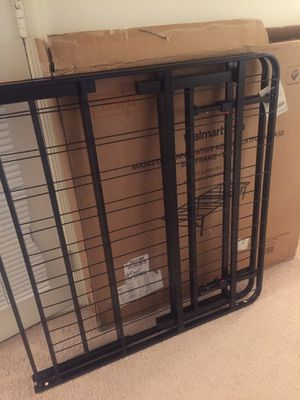Steel bed frame for Sale in Fairfax, VA