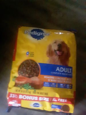 33 lbs. Bag of pedigree adult dog food $15 for Sale in Murfreesboro, TN