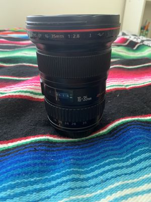 Canon 16-35mm f2.8 and Rebel t6i for Sale in San Diego, CA
