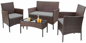 New!! Conversation Set, Outdoor Chairs, Patio Loveseat,4Pc Backyard Set for Sale in Phoenix, AZ