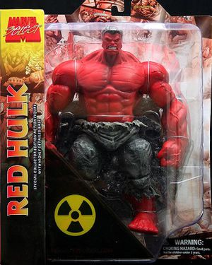 Marvel Select RED HULK Action Figure by Diamond - BRAND NEW for Sale in Los Angeles, CA