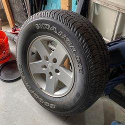 Jeep Wrangler JK Stock Spare Tire for Sale in Gastonia,  NC