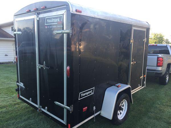 6x10 enclosed trailer