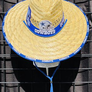 Dallas Cowboys straw hat (Great Gift 🎁) Same Day Shipping If Paid By 3pm (I Also Have Other Team's) for Sale in Merced, CA
