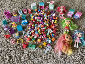 Lot of Shopkins Shopees Dolls & Cutie Cars for Sale in Thousand Oaks, CA
