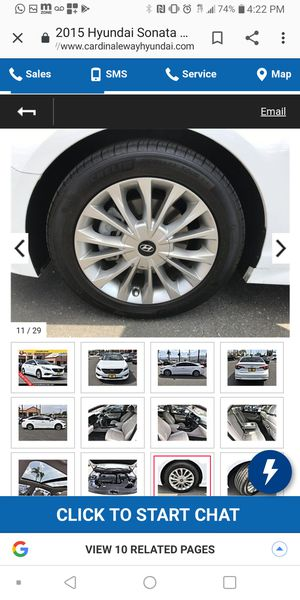 Hyundai sonata rims and tires for Sale in Corona, CA