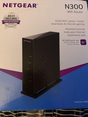 Netgear N300 WiFi router. for Sale in TWN N CNTRY, FL
