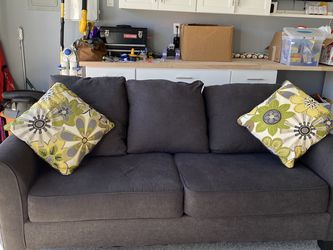 Charcoal Gray Couch for Sale in Santee,  CA