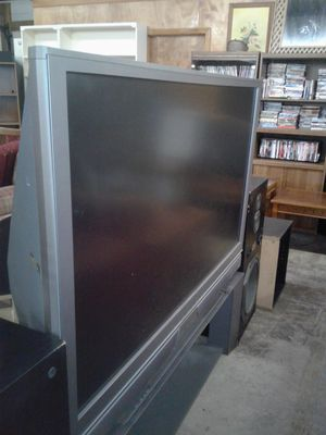 50 INCH BIG SCREEN T.V. W/STAND (Works Great)! for Sale in NC, US