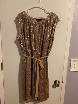 Lane Bryant Bronze color sequin dress Size 18/20 for Sale in Gresham, OR