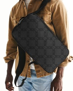 DeMarcus Alexan Grey Monogram Slim Tech Backpack for Sale in Alexandria,  VA