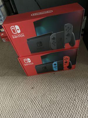 Nintendo Switch brand new grey for Sale in Arlington, VA