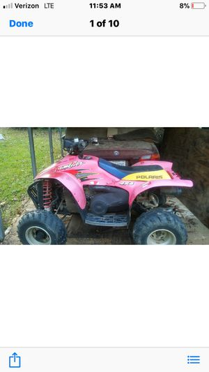 ATV ( 4 Wheeler) I have two of these for parts only. 500 Scrambler parts. Make an offer! for Sale in West Point, MS
