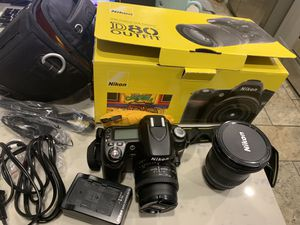 Nikon D80 10.2MP Digital SLR Camera - Black (Kit w/ 18-135mm Lens) W/ Box !! for Sale in Lakewood, CA