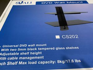 DVD floating wall mount stand ( two shelves) for Sale in Fort Lauderdale, FL