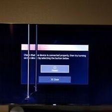 Two Samsung 65 UHDTV 4K for PARTS for Sale in Virginia Beach, VA