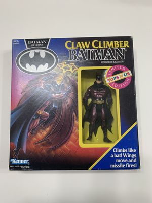 Kenner Batman Returns Claw Climber Batman Action figure Toys R Us Limited Edition for Sale in Nuevo, CA