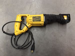 DEWALT Reciprocating Saw, 10-Amp for Sale in Yonkers, NY